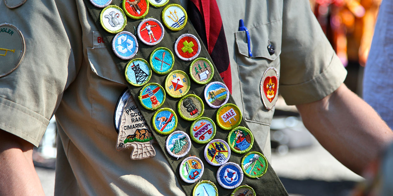 Scout Badges are a form of gamification