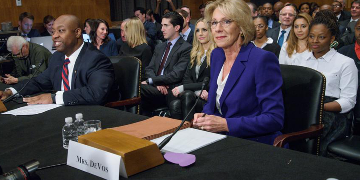betsy devos s views on student debt and vocational courses top hat