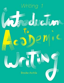 Introduction to Academic Writing book cover