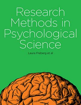 Research Methods in Psychological Science book cover