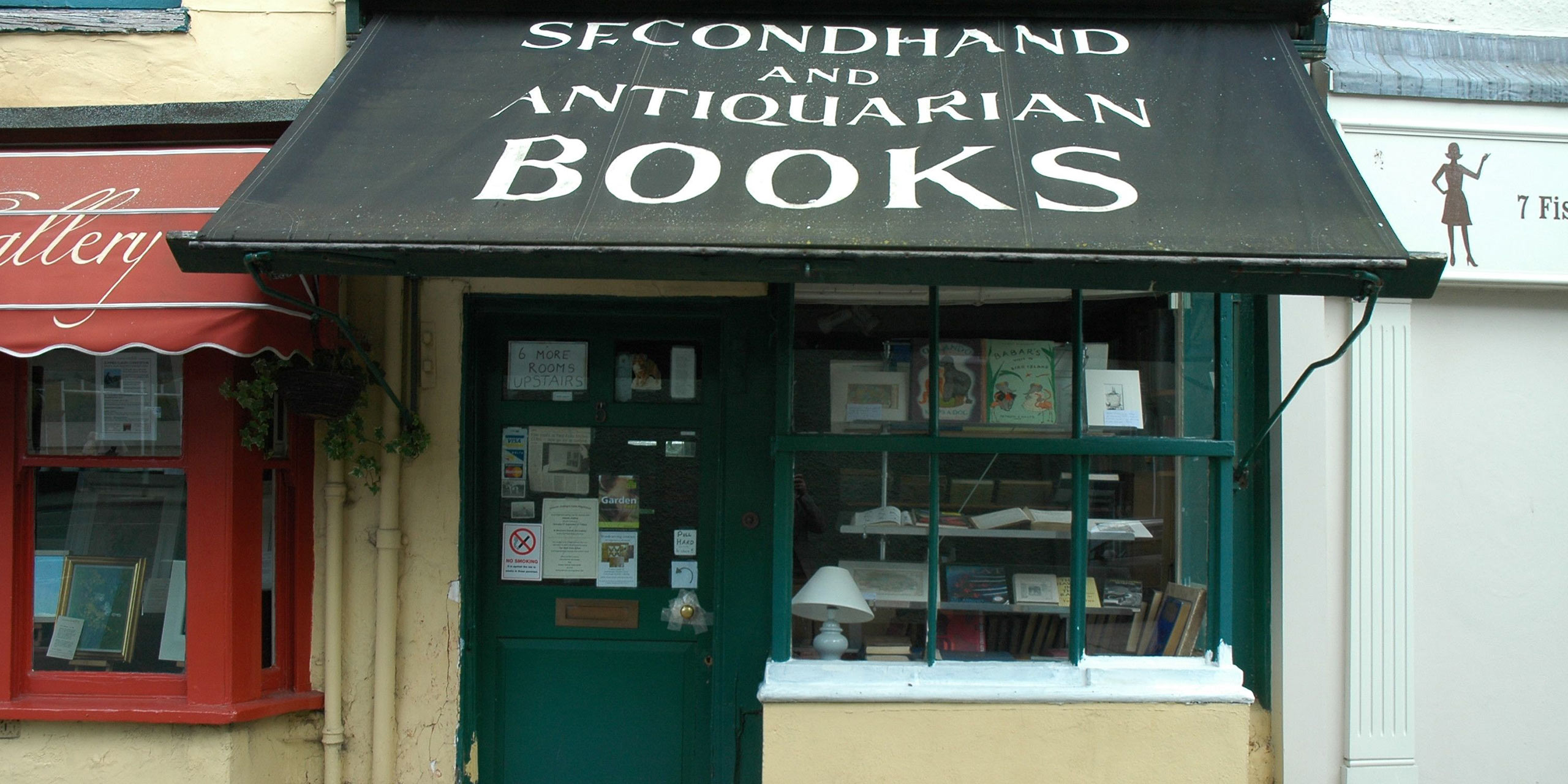 Second-hand and antiquarian books