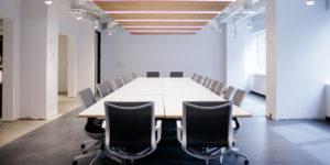 Top Hat's boardroom.