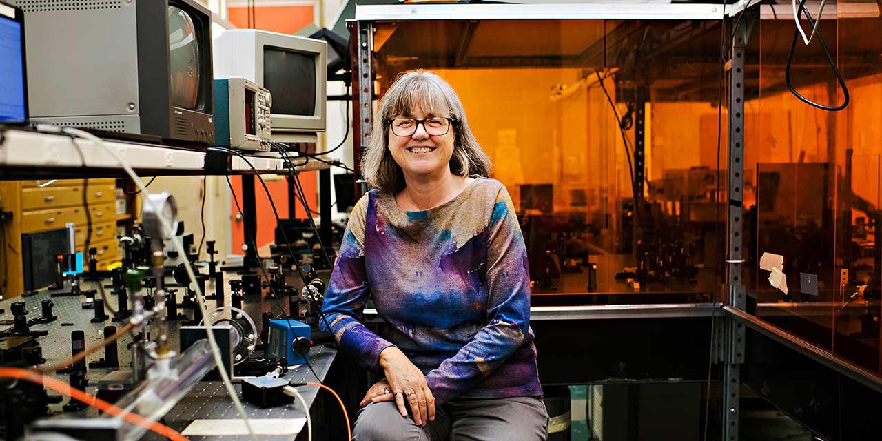 "Nobel Prize Winner Donna Strickland ""Pushing The Innovation Envelope"""