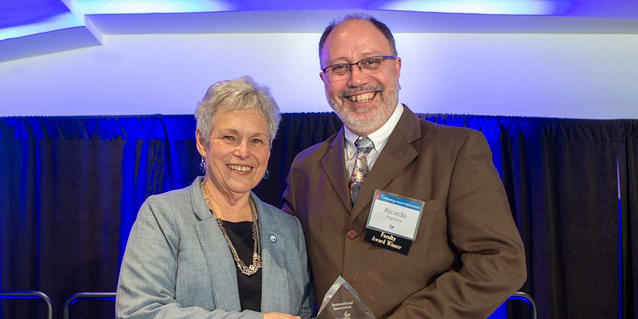 Top Hat Geoscience Textbook Author Wins Innovation Prize