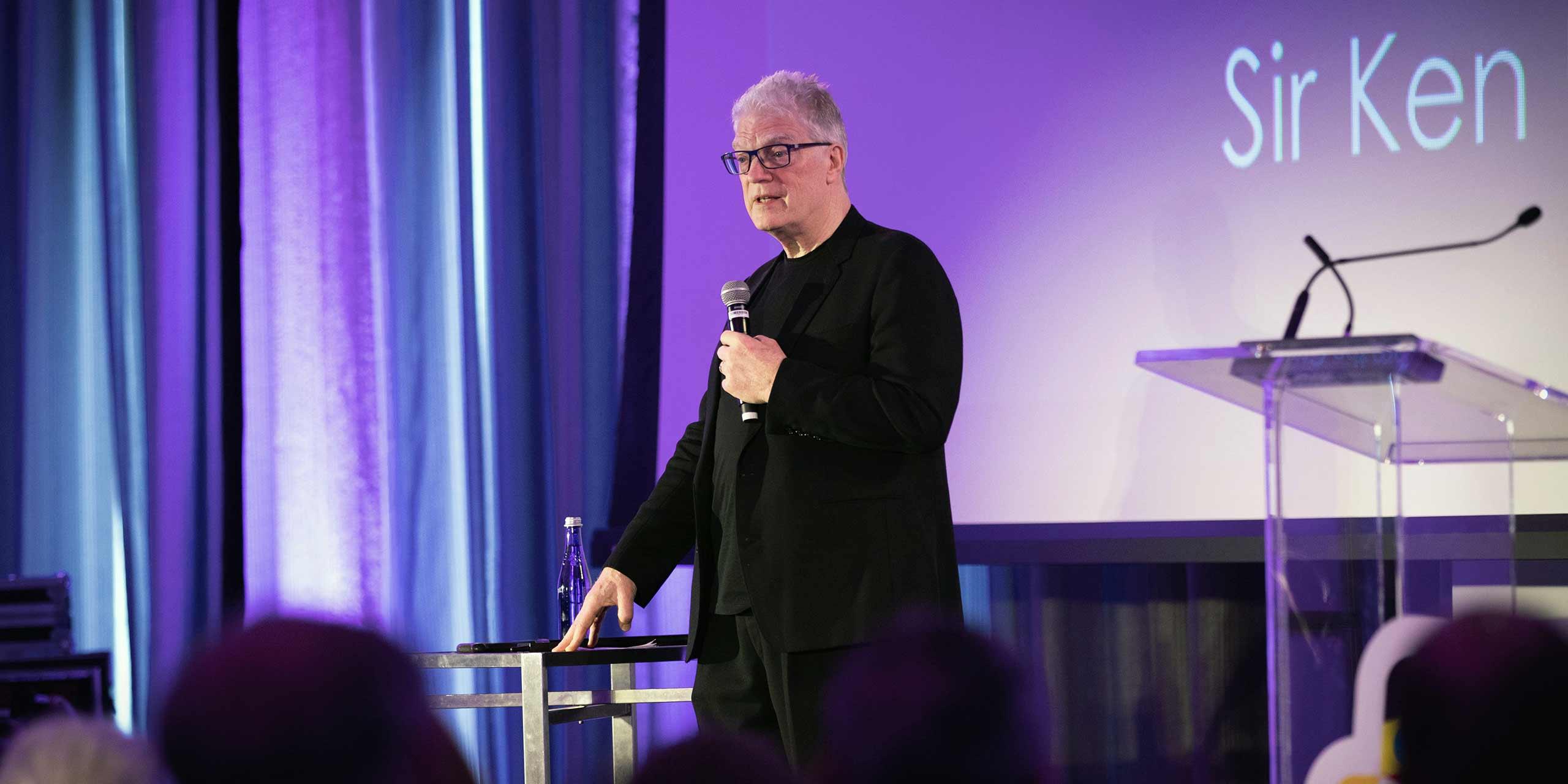 Education Needs Radical Change: Sir Ken Robinson at Engage 2018