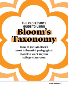Bloom's Taxonomy E-Book