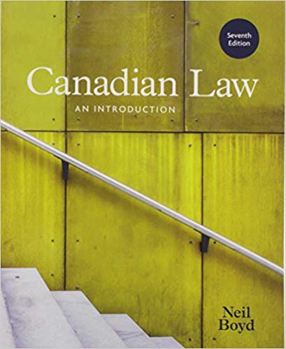 Canadian Law: An Introduction | Nelson