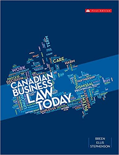 Canadian Business Law Today | McGraw-Hill