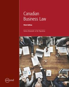 Canadian Business Law | Top Hat