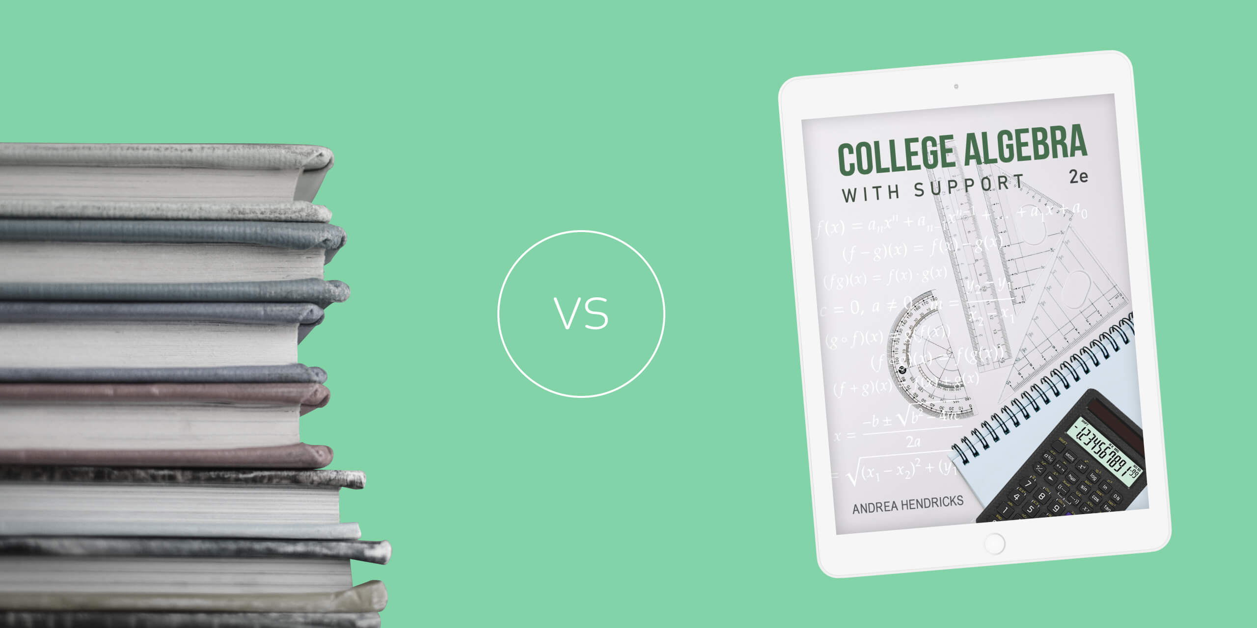 College Algebra with Support Textbooks: Which Is The Best?