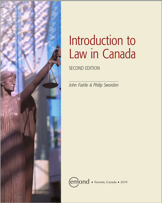 Introduction to Law in Canada | Top Hat