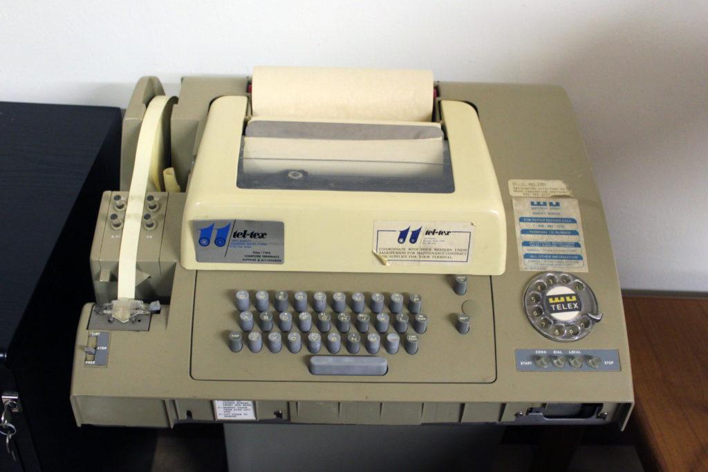 An ASR-32 Telex printer.