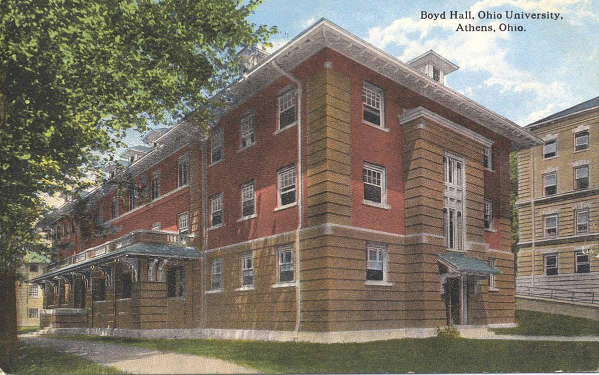 Boyd Hall, Ohio University