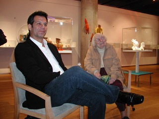 Richard Florida with urban activist Jane Jacobs.