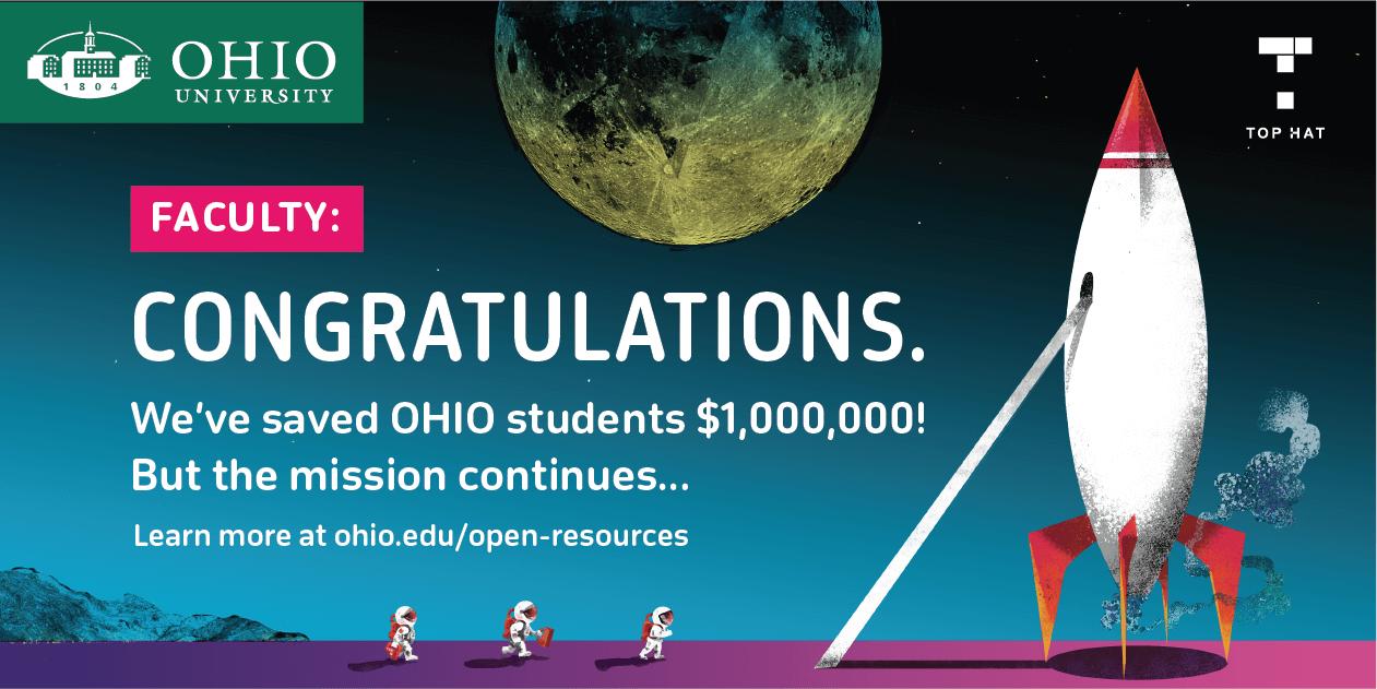Ohio University: $1M